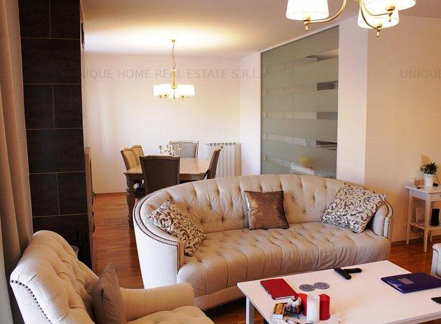 Pipera: Apartament in ansamblu rezidential cu loc de parcare si boxa - imaginea 1