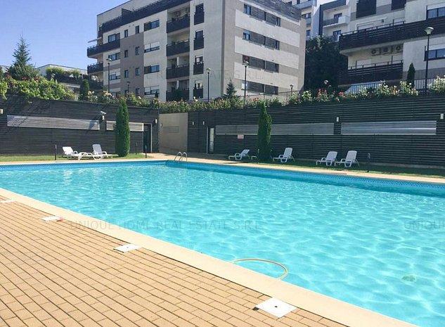 Iancu Nicolae: Apartament cu 2 camere in ansamblu rezidential cu piscina ! - imaginea 1
