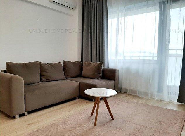 Baneasa: Apartament cu 2 camere, luminos si cu vedere catre padure! - imaginea 1