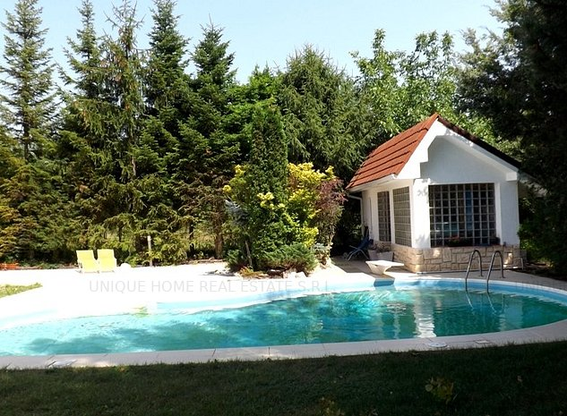 Vila spectaculoasa, cu piscina si curte de 1000 mp! - imaginea 1