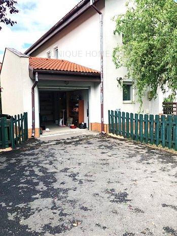 Pipera: Vila individuala de 4 camere in ansamblu rezidential, curte 300 mp - imaginea 1