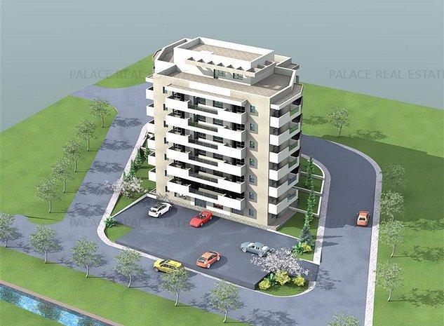 De vanzare,Apartament 2 camere 46.3mp, Bucium, 200m de Lidl - imaginea 1