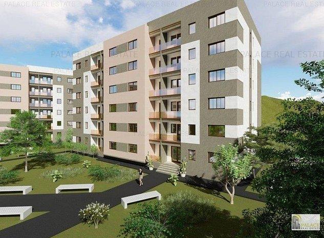 Apartament NOU 1 camera decomandat, 31,45mp, Bucium - imaginea 1