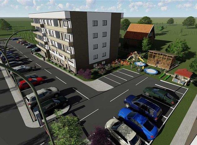 Comision 0% Bloc nou, apartament 2 camere decomandat 45.70mp util, la 150 m de m - imaginea 1