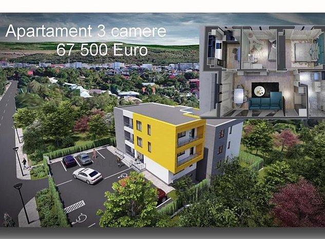 Discount la plata cash in luna August! Bloc nou Galata, apartament 3 camere dec - imaginea 1