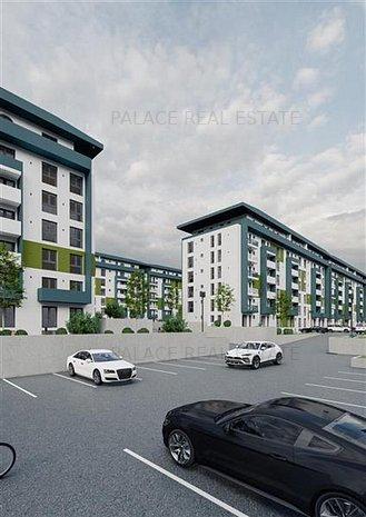 Apartament 1 camera decomandat, in cel mai nou complex rezidential din Pacurari - imaginea 1