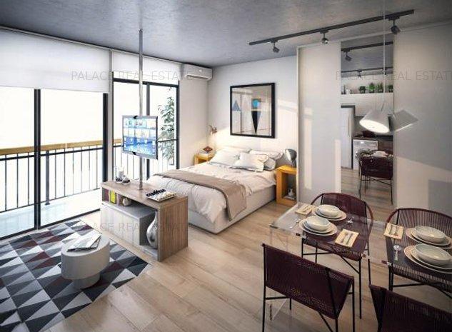 Direct Dezvoltator! Apartament 1 camera, 44.50 mp, Bloc Nou Pacurari - imaginea 1