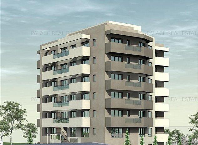 De vanzare, Apartament 2 camere, 54.4mp Utili, Bucium, la 200m Lidl - imaginea 1