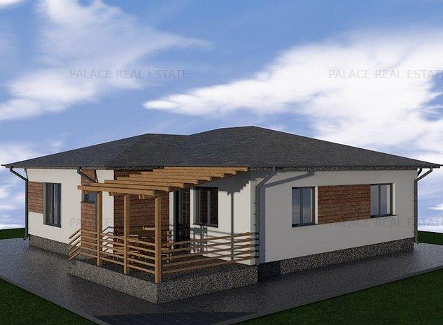 Casa single - parter moderne in cel mai nou cartier din Aroneanu - imaginea 1