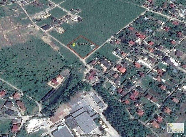 Vanzare teren 5000 mp zona Bucium- Perla Viilor - imaginea 1