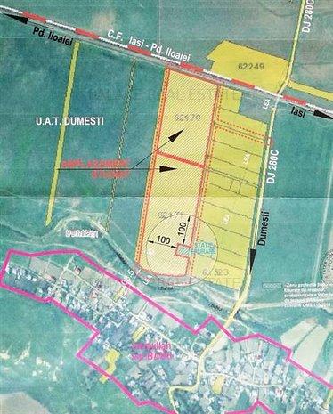 Oportunitate investitie! Vanzare teren 100000 mp Letcani- Farmexpert - imaginea 1