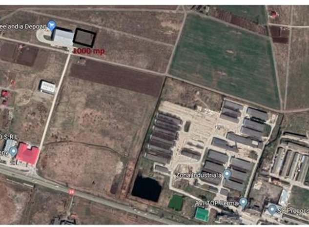 teren 1000 mp, intravilan , ideal  pentru depozit  industrial - imaginea 1