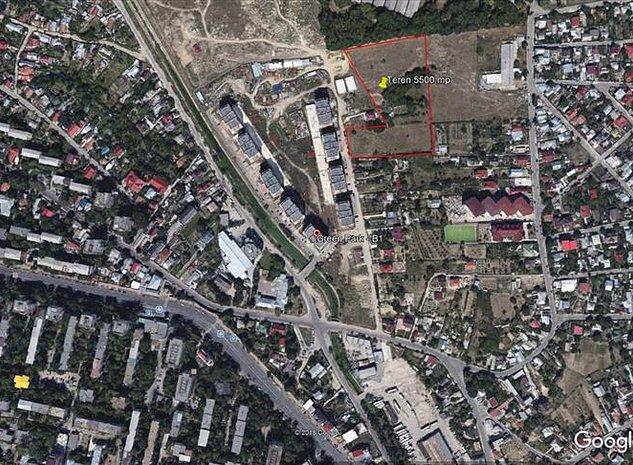 Vanzare teren 5500 mp cu PUZ aprobat S+P+ 7/9 etaje zona Tatarasi- Aeroport - imaginea 1