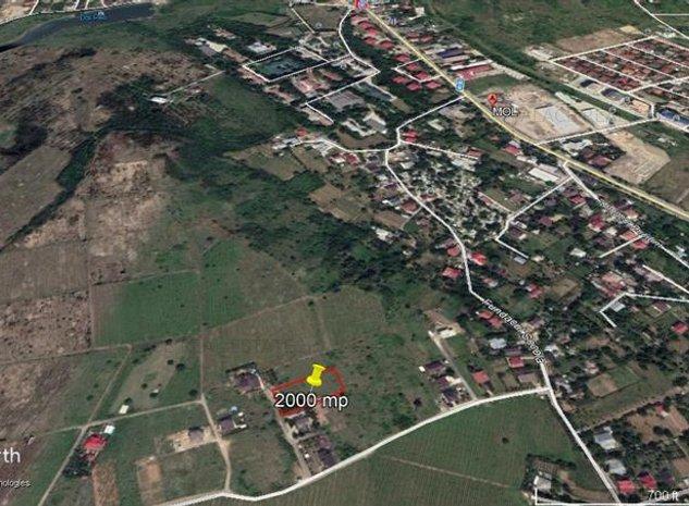 teren, 2000 mp, pentru constructie case in  Iasi- zona  Bucium - imaginea 1