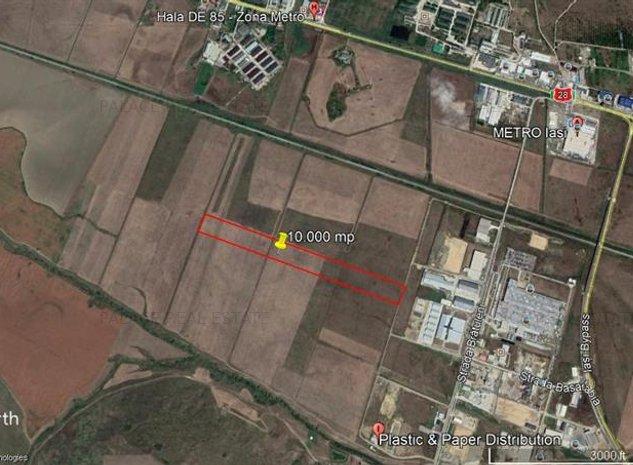 teren  10.000 mp , langa Parcul Logistic Miroslava - imaginea 1