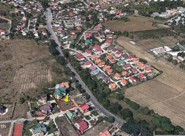 Teren 571 mp ,  Bucium pt constructie casa - imaginea 1