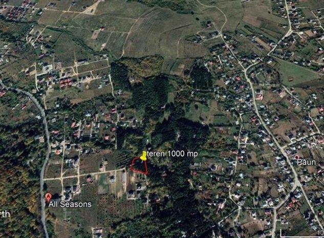teren 1000 mp, ideal pentru casa in Bucium - imaginea 1