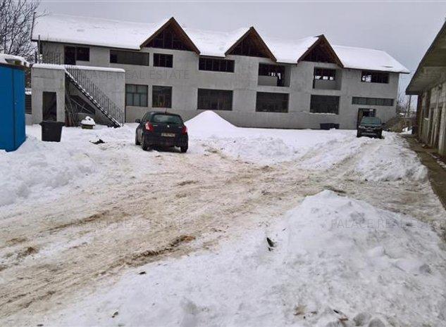 Vanzare spatiu industrial 636.5 mp situat in Tomesti - imaginea 1
