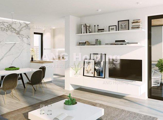 Penthouse 4 camere - Herastrau * Terasa si Vedere Impresionanta - imaginea 1