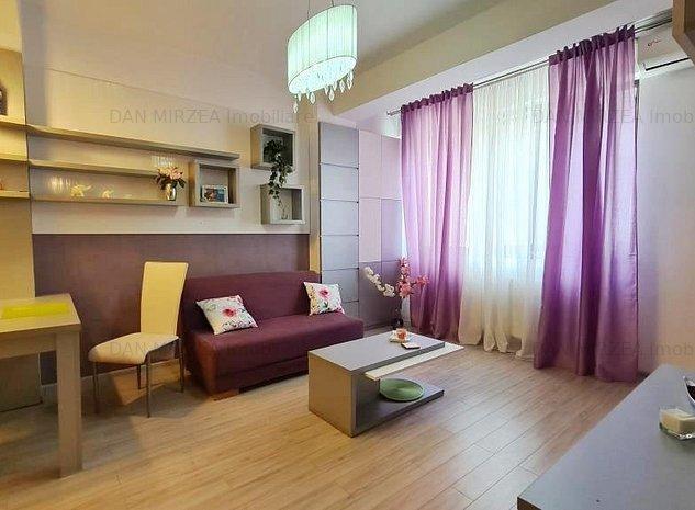 Apartament 3 camere Domenii-Ciuperca, etaj 1, vedere spate - imaginea 1