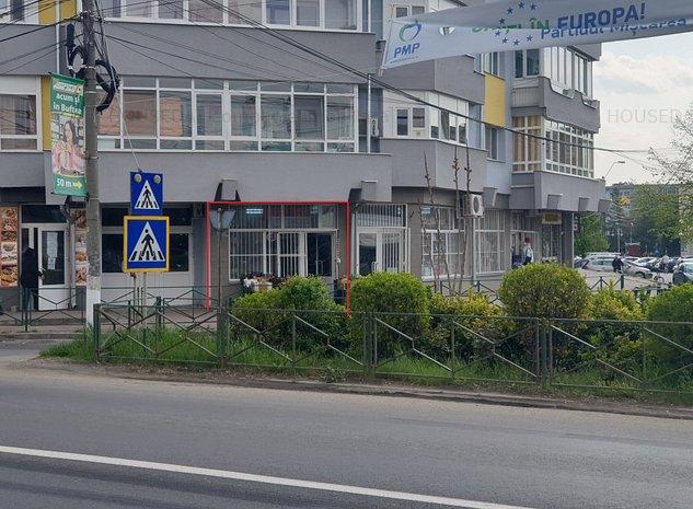 Inchiriere spatiu comercial activ cu suprafata 17mp - imaginea 1