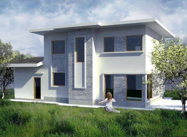Vila cu garaj - Otopeni - Grivita - imaginea 1