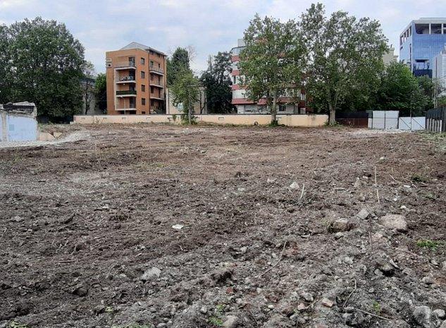 Teren Unicat pe Calea Floreasca cu Autorizatie de Construire - imaginea 1