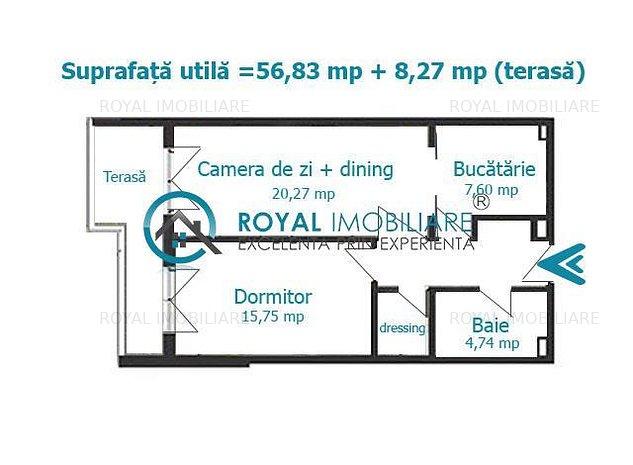 Royal Imobiliare - Vanzari apartamente Bloc Nou - imaginea 1