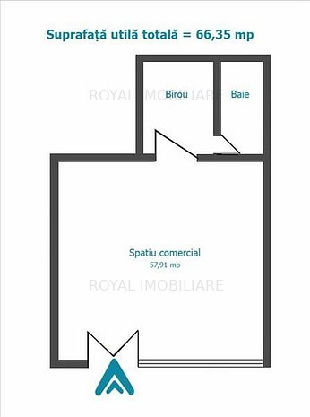 Royal Imobiliare - inchirieri spatii comerciale - imaginea 1