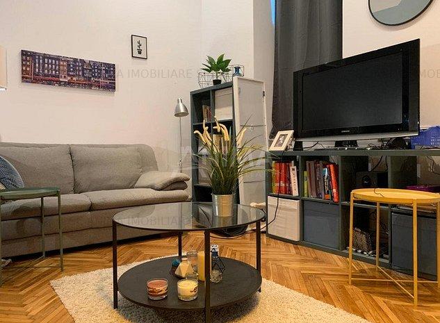 Apartament cu o camera de inchiriat zona Centrala - imaginea 1