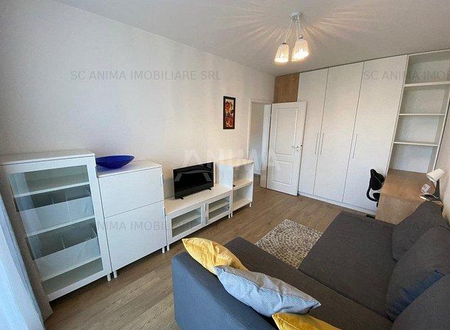 Apartament cu o camera, finisat si mobilat modern, zona Centrala - imaginea 1