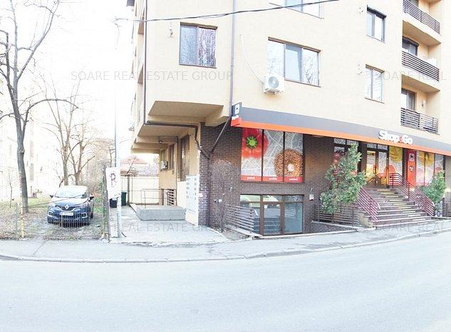 Militari Apusului spatiu stradal in bloc nou,langa shop and go, vitrina - imaginea 1