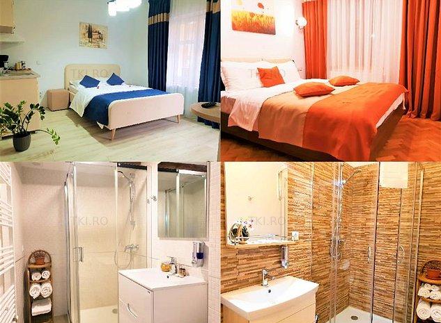 Apartament 2 camere + Garsoniera de vanzare Sibiu zona Ultracentrala - imaginea 1