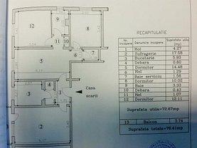 Apartament de vânzare 4 camere, în Ploiesti, zona Republicii