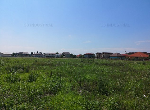 Teren cu destinatie mixta - industrial / rezidential - imaginea 1