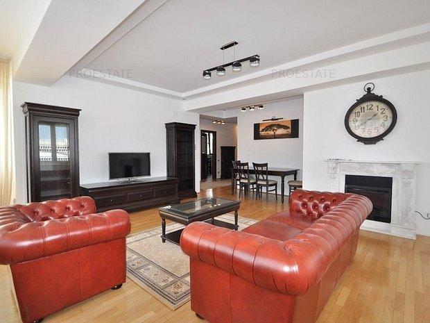 Aviatorilor inchiriere apartament amenajat premium 3 camere 115 mp! - imaginea 1
