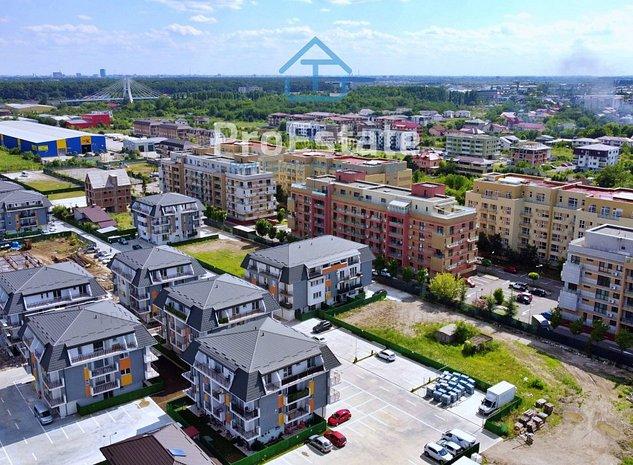 Apartament 3 camere terasa superba, finalizat | 2 locuri de parcare subteran | - imaginea 1