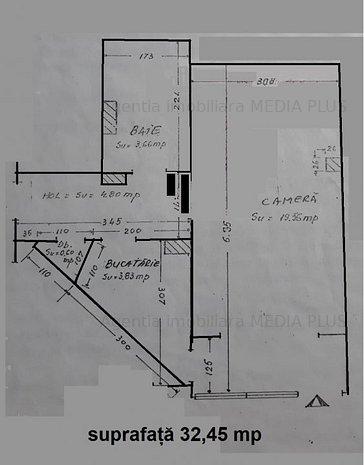 Apartament 1 camera Siderurgistilor - imaginea 1