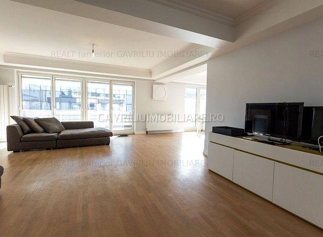Vanzare apartament 5 camere - Premium - Metrou Aviatorilor, Primaverii! - imaginea 1