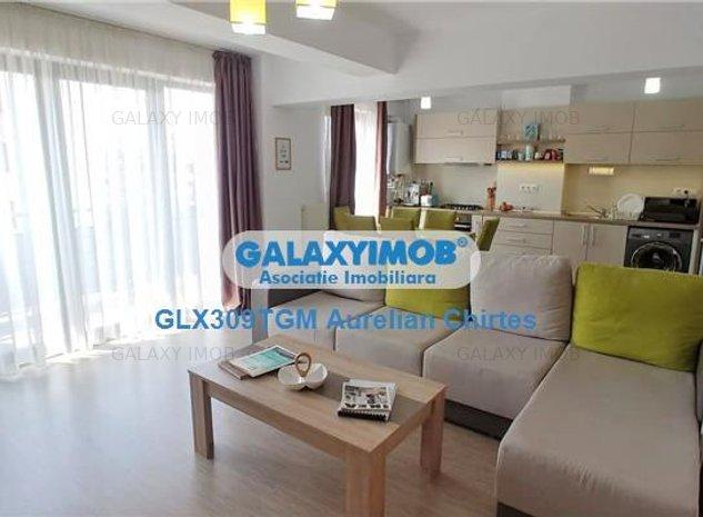 Apartament cu 2 camere mobilat si utilat modern la Acta Residence - imaginea 1