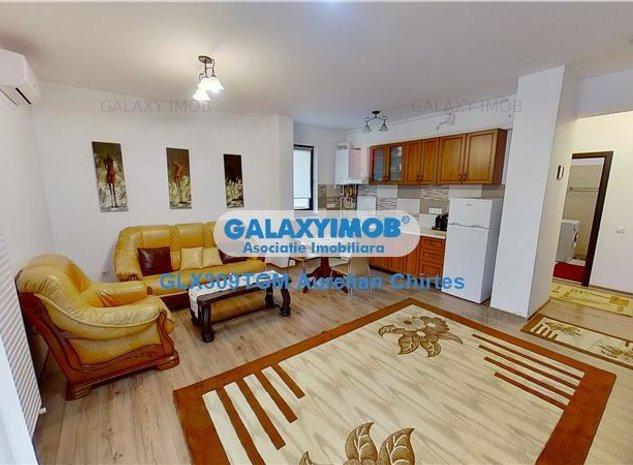 Inchiriez apartament cu 2 camere mobilat modern in zona centrala - imaginea 1