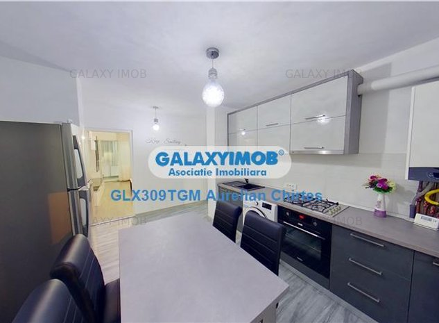 Inchiriez apartament cu 4 camere mobilat lux la 5 minute de UMF - imaginea 1