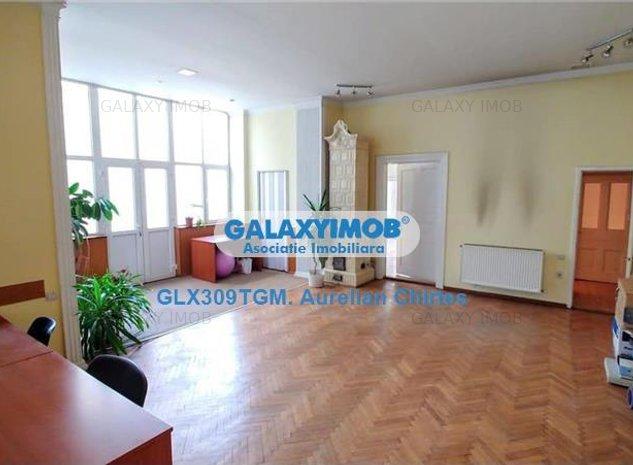 Inchiriez casa cu 5 camere in Centru 182 mp ideala pentru birouri - imaginea 1