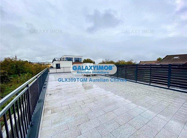 Inchiriez spatiul comercial 90 mp cu terasa de 90mp, constructie 2020 - imaginea 1