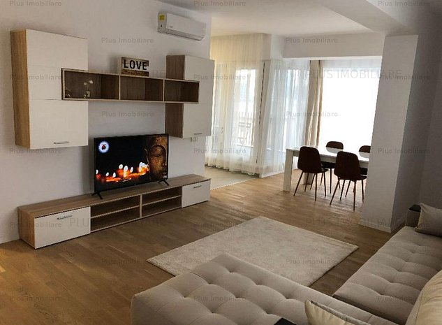 Apartament 3 camere mobilat complet situat in zona Pipera - imaginea 1