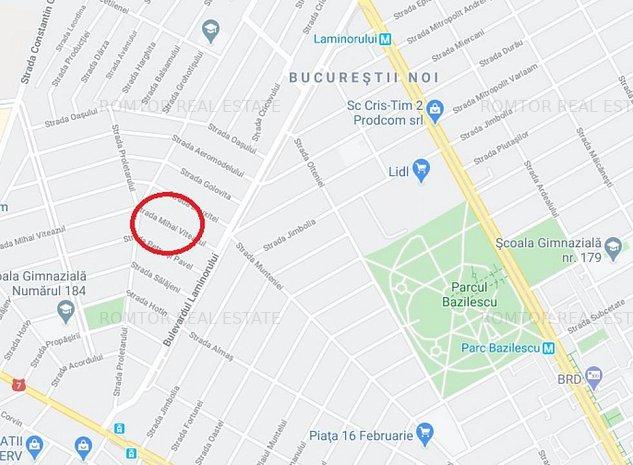 Bucurestii Noi-Laromet, 250 mp, deschidere 9 ml, casa demolabila - imaginea 1