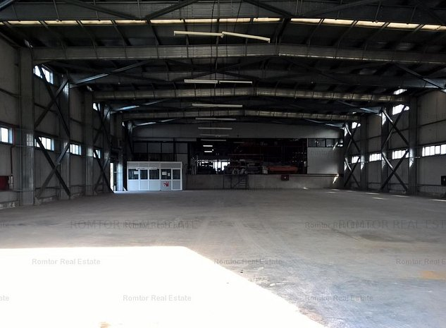 Teren cu spatiu industrial de vanzare in zona Militari - imaginea 1