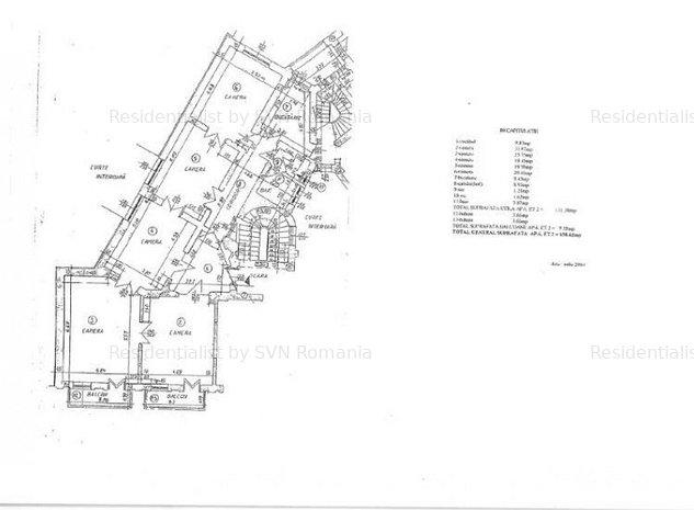 Apartament 5 CAMERE - Kogalniceanu: Schita