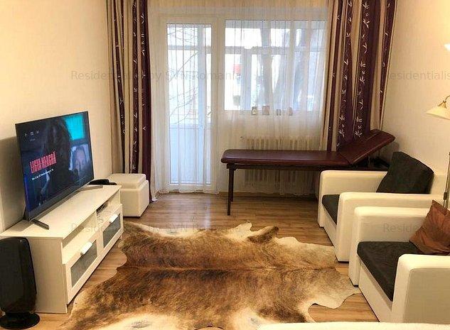 Apartament cu 3 camere mobilat Dorobanti: living