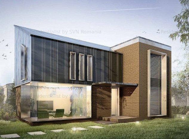 Casa moderna Bucurestii Noi- Jiului: k
